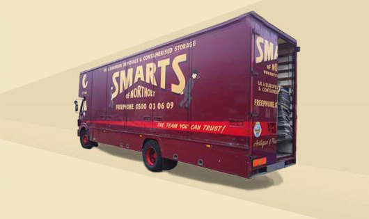 Smarts of Northolt Removals van